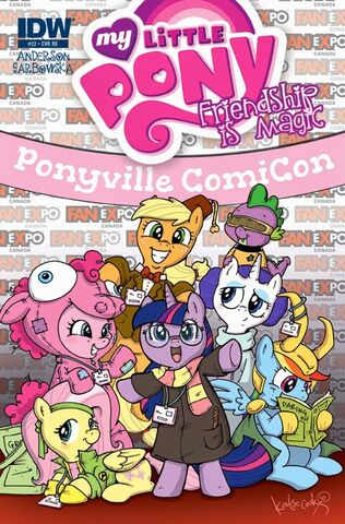 File:Comic issue 22 cover RE Fan Expo.jpg