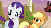 "Rarity ""we're going shopping!"" S5E3"