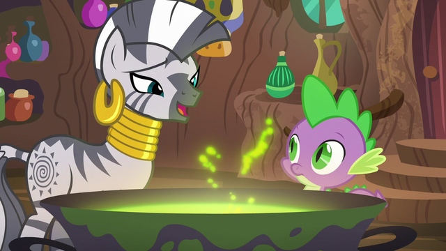 "File:Zecora ""it ties the room together"" S5E22.png"