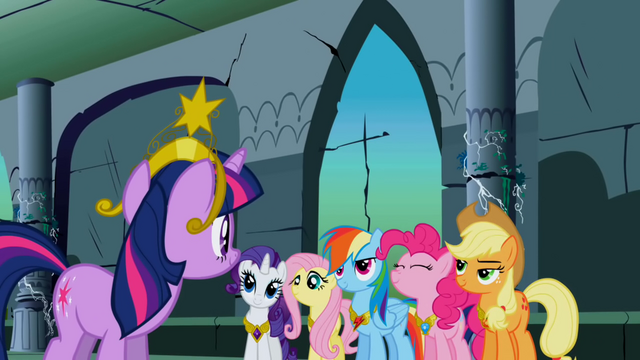 File:Main 6 ponies officially a group S1E2.png