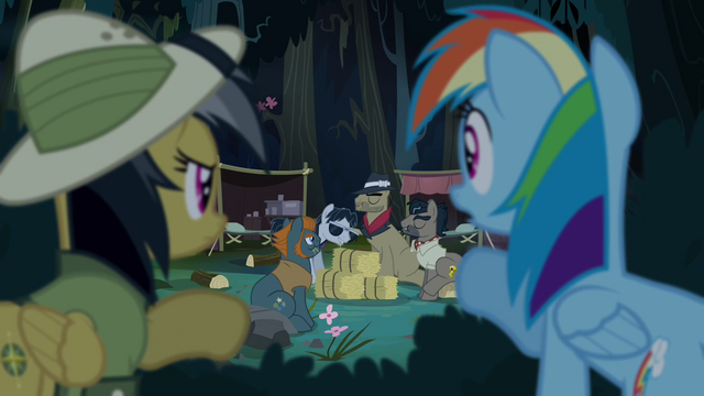 File:Rainbow and Daring find Caballeron's camp S4E04.png