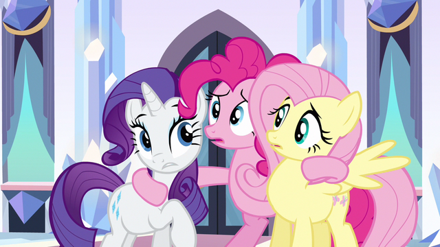 File:Rarity & Fluttershy why us S3E1.png