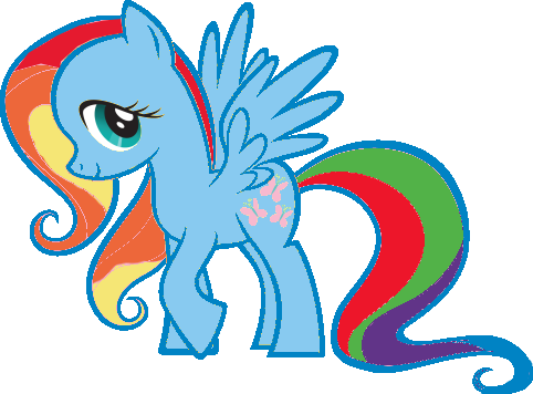 File:FANMADE Fluttershy Rainbow Dash pallette swap by Mewkat14.png