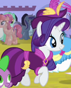 Rarity coronation dress ID S3E13