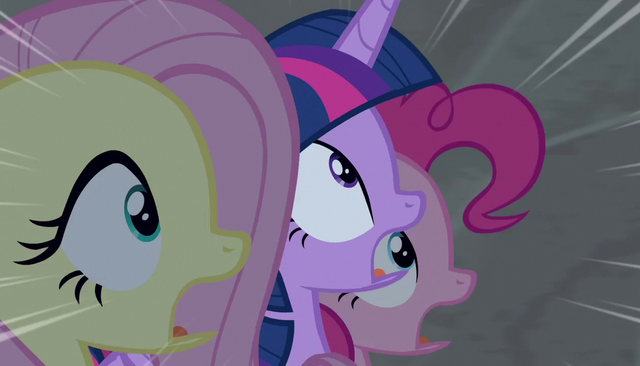File:Twilight, Fluttershy, and Pinkie in utter shock S5E1.png