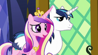 "Cadance ""we weren't needed in Maretonia"" S5E19"