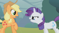 "Rarity ""owning"" Applejack S01E08"