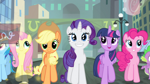 File:Rarity and friends all happy S4E8.png