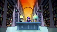 Twilight in a dream library S5E13