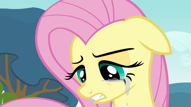 File:Fluttershy crying 3 S2E22.png