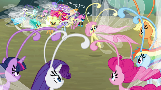 File:Fluttershy speaking Breezie language S4E16.png