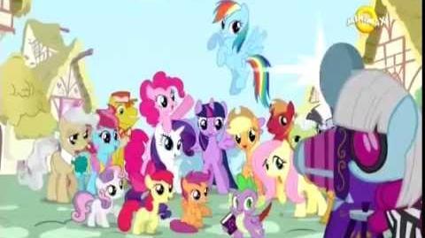 My Little Pony Friendship is Magic - Intro (Romanian S4)