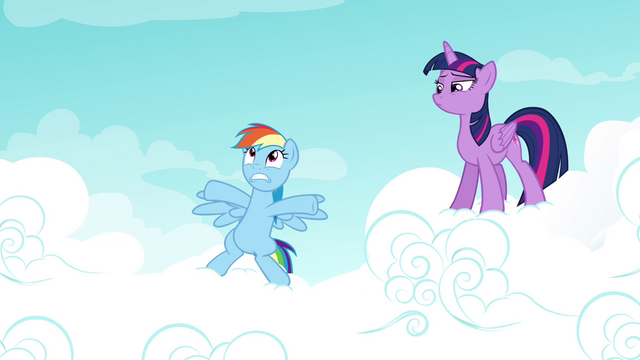 """File:Rainbow """"the Wonderbolts history test"""" S4E21.png"""
