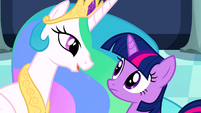 Twilight and Celestia resume S02E26