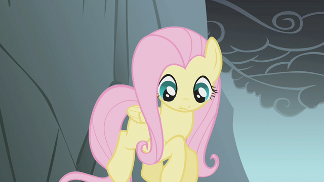 File:Fluttershy looks down while jumping a gap S1E07.png