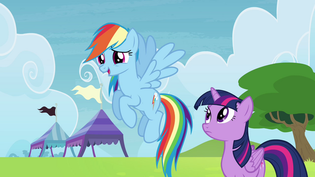 File:Rainbow looking at Wonderbolts S4E10.png