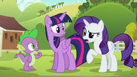 """Rarity """"the Ponyville Day Spa had a few problems"""" S6E10"""