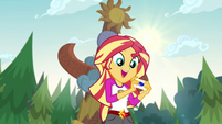 Sunset Shimmer assigned to Sapphire Tent EG4