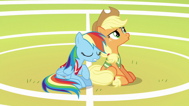 "File:Applejack disappointed ""nope"" S6E18.png"