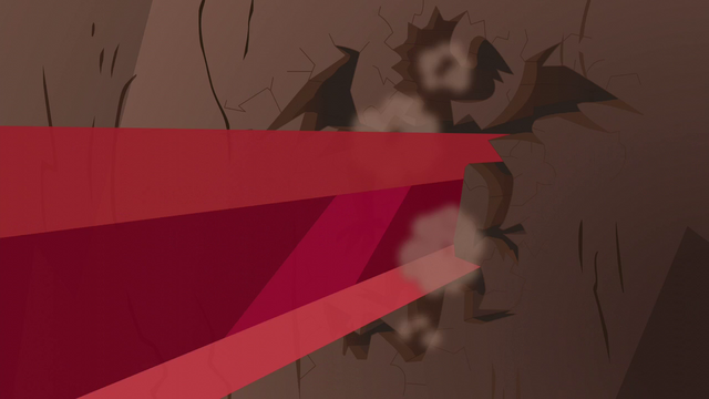 File:Crystal spire and Garble-shaped hole in the wall S6E5.png