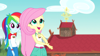 """Fluttershy """"lovely out here"""" bloopers version EG4b"""