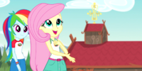 My Little Pony Equestria Girls: Legend of Everfree/Bloopers