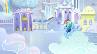 Rainbow hears whistle blow S5E5