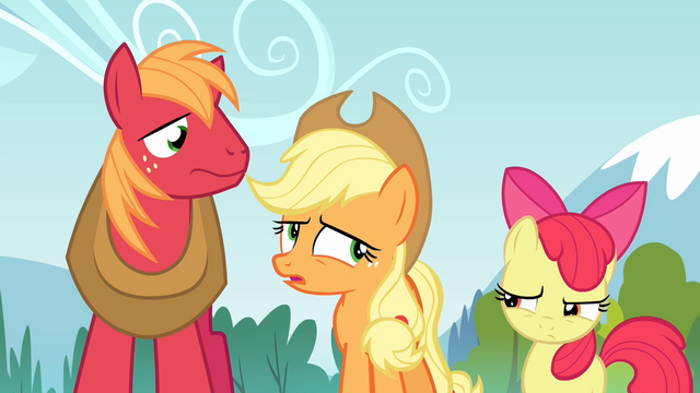File:Applejack 'Don't know that it's helpful' S4E09.png