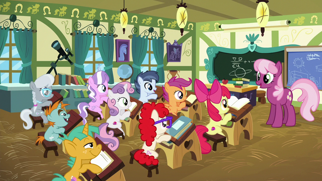 File:Cheerilee speaking to school foals S6E14.png