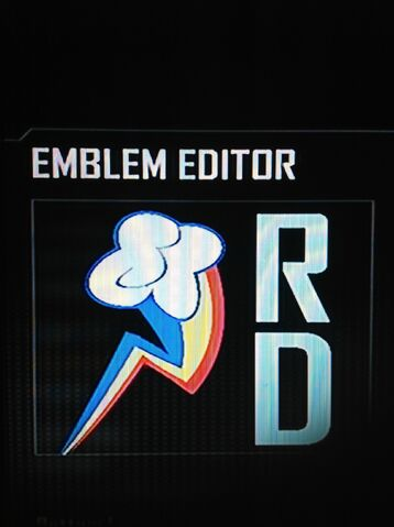 File:FANMADE Rainbow Dash Cutie Mark Black Ops 2 Emblem.jpg