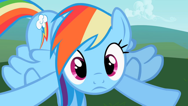 File:Rainbow Dash ting! S2E8.png