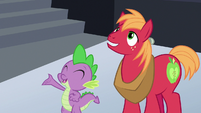"Spike ""I hope you like awesome games!"" S6E17"