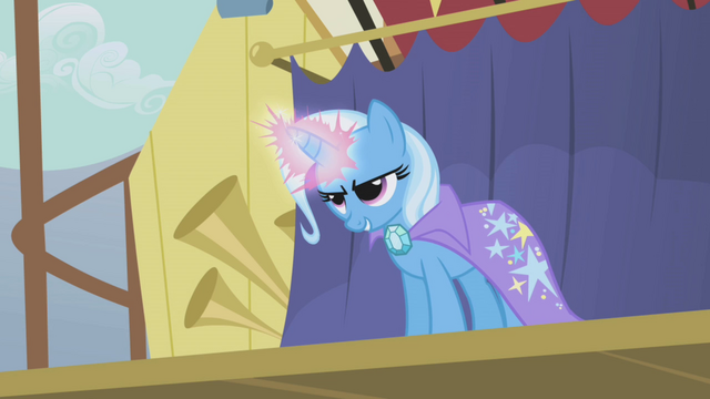 File:Trixie about to zap Rainbow Dash S1E06.png