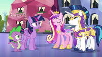 "Princess Cadance ""I'm sorry for all of this"" S6E16"