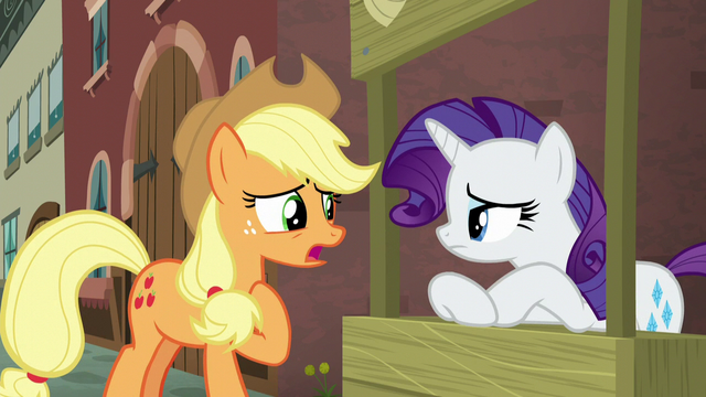 File:Applejack still not sure why the map picked her S5E16.png