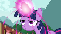 Twilight sweating while using magic S3E05