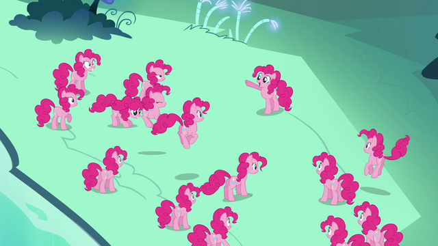 File:Pinkie Pie tells her clones S3E03.png