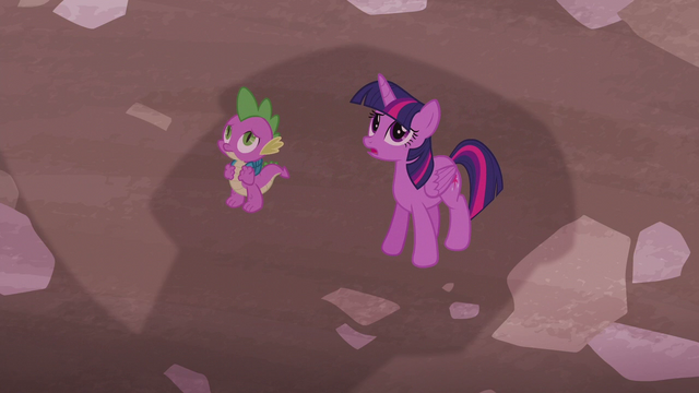 File:Twilight and Spike in front of Sugarcube Corner S5E25.png