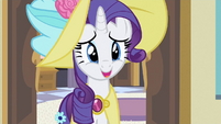 Rarity nervous laugh S2E9