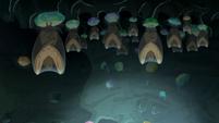 Bats sleeping S6E5