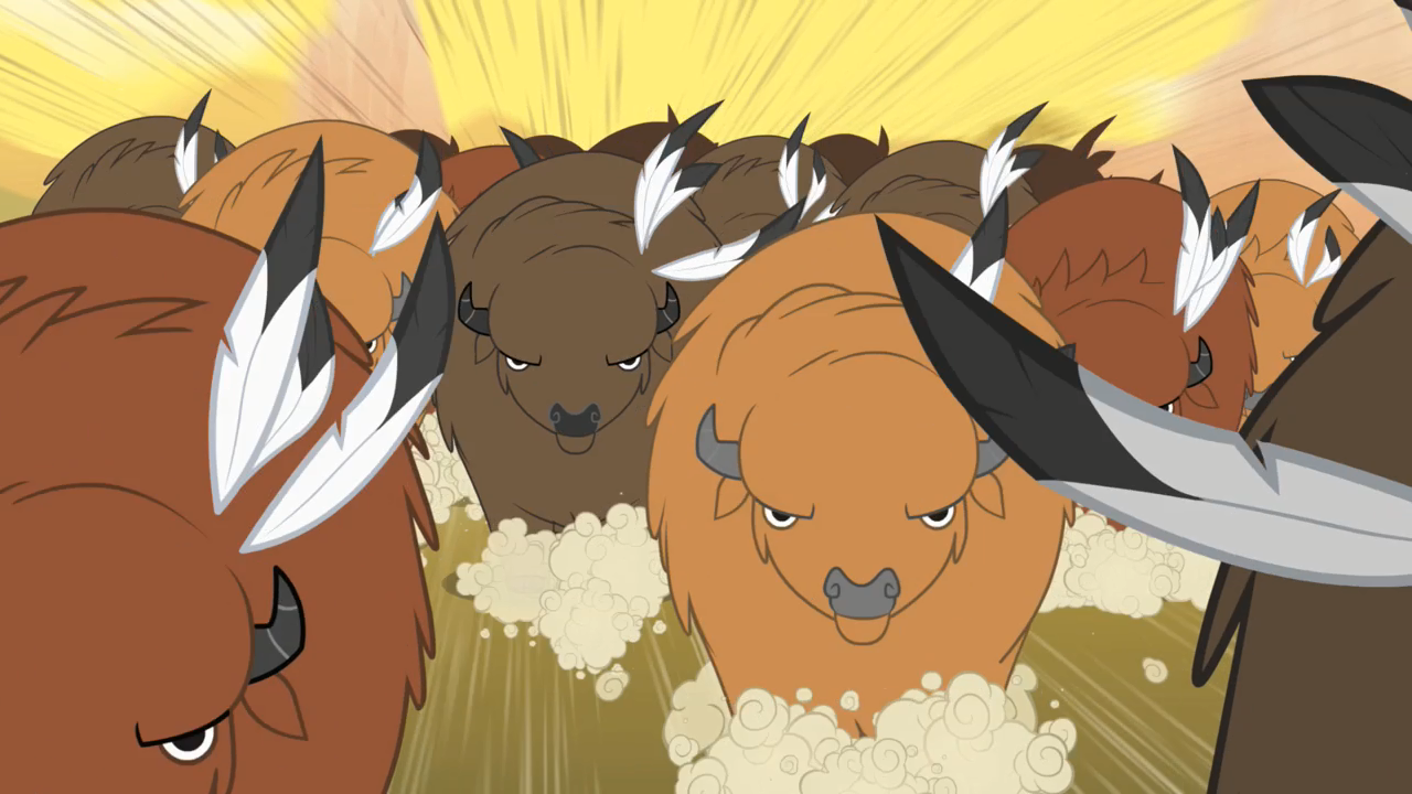 image   buffalo stampede 1 s1e21 png my little pony