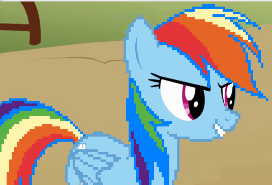 File:FANMADE Digitalized Rainbow Dash.png