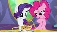 "Pinkie ""Somepony's gonna get a very special pancake!"" S5E03"
