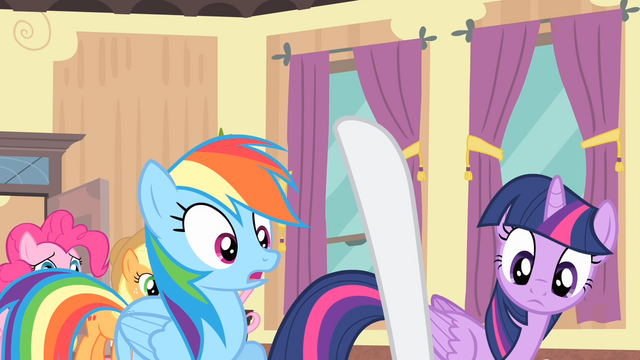 File:Rarity with her hoof up S4E08.png