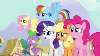 Twilight's friends worried S3E05