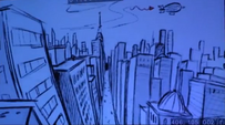 View of Maretropolis from the roof S4E6