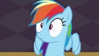 Rainbow Dash hears Soarin S5E15