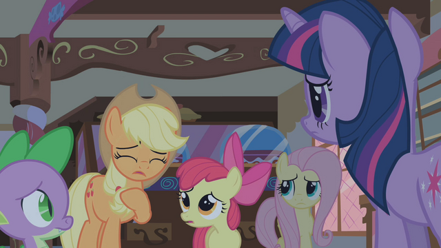 File:Applejack terrified of Zecora S1E09.png