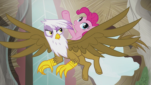 "File:Pinkie ""The map sent us here to fix some sort of problem!"" S5E8.png"