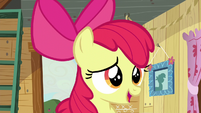 "Apple Bloom ""don't suppose either of you got yours?"" S5E4"